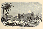 Tomb of Rachel From the book 'Those holy fields : Palestine, illustrated by pen and pencil' by Manning, Samuel, 1822-1881; Religious Tract Society (Great Britain) Published in 1873