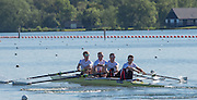 Caversham, United Kingdom,  GBR LM4-, Left to right. Mark ALDRED, Peter CHAMBERS, Richard CHAMBERS and Chris BARTLEY. GBR Rowing, European Championship team announcement, of crews competing in Belgrade, in May. Venue, GBR rowing training base, near Reading,<br /> 08:57:28  Wednesday  14/05/2014<br /> [Mandatory Credit: Peter Spurrier/Intersport<br /> Images]