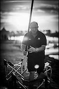 Sarasota. Florida USA. General View, GBR Rowing Logistics Manager, Maurice HAYES, Boat Park at the World Rowing Championships, Nathan Benderson Park<br /> <br /> Monday  25.09.17   <br /> <br /> [Mandatory Credit. Peter SPURRIER/Intersport Images].<br /> <br /> <br /> NIKON CORPORATION -  NIKON D4S  lens  AF 85mm f/1.4G mm. 200 ISO 1/8000/sec. f 1.4