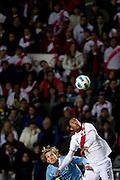 La Plata, 19 de Junho de 2011..COPA AMERICA 2011 - URUGUAI 2x0 PERU..A selecao Uruguaia de futebol enfrenta o Peru no estadio Unico de La Plata, em partida valida pelas semi finais da copa america...FOTO: MARCUS DESIMONI / NITRO....