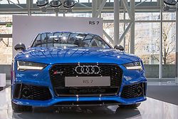 10.03.2015, Audi Forum, Ingolstadt, GER, AUDI AG Jahrespressekonferenz, im Bild Ausstellung Audi RS 7 // during AUDI AG Annual Press Conference at the Audi Forum in Ingolstadt, Germany on 2015/03/10. EXPA Pictures © 2015, PhotoCredit: EXPA/ Eibner-Pressefoto/ Strisch<br /> <br /> *****ATTENTION - OUT of GER*****