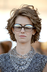 File photo - Syrian First Lady Asma Al Assad attends the 2008 annual military parade down the Champs Elysees on Bastille Day in Paris, France on July 14, 2008. Nicolas Sarkozy presides for the second time over Bastille Day national holiday celebrations. Syria's British-born first lady Asma Assad has begun treatment for breast cancer. The Syrian presidency posted on its Facebook page a photo of President Bashar Assad sitting next to his wife in a hospital room. Photo by Thierry Orban/ABACAPRESS.COM