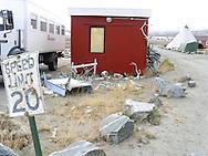 Speed limit 20, Kangerlussauq, Greenland