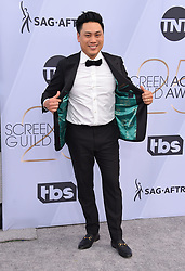 Patricia Clarkson at the 25th Annual Screen Actors Guild Awards held at the Shrine Auditorium on January 27, 2019 in Los Angeles, CA. © OConnor-Arroyo / AFF-USA.com. 27 Jan 2019 Pictured: Jon M Chu. Photo credit: OConnor-Arroyo / AFF-USA.com / MEGA TheMegaAgency.com +1 888 505 6342
