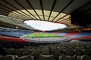 Hamden Park ahead of the International Friendly match between Scotland and Belgium at Hampden Park, Glasgow, United Kingdom on 7 September 2018.