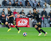 LAFC forward Carlos Vela (10) during a MLS soccer match in against the Sporting KC Los Angeles, Sunday, March 3, 2019. LAFC defeated Sporting KC, 2-1. (Ed Ruvalcaba/Image of Sport)