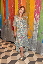 Tess Ward at a cocktail supper hosted by BOTTLETOP co-founders Cameron Saul & Oliver Wayman, along with Arizona Muse, Richard Curtis & Livia Firth to launch the #TOGETHERBAND campaign at The Quadrant Arcade on April 24, 2019 in London, England.<br /> <br /> ***For fees please contact us prior to publication***