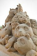 Noah's Ark Sand Sculpture