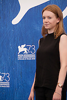 Lena Suijkerbuijk at the Home film photocall at the 73rd Venice Film Festival, Sala Grande on Saturday September 3rd 2016, Venice Lido, Italy.