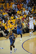 The Washington Wizards defeated the Cleveland Cavaliers 88-87 in Game 5 of the First Round of the NBA Playoffs, April 30, 2008 at Quicken Loans Arena in Cleveland......