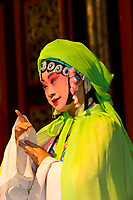 Chinese Opera performance, Zhouzhuang, China