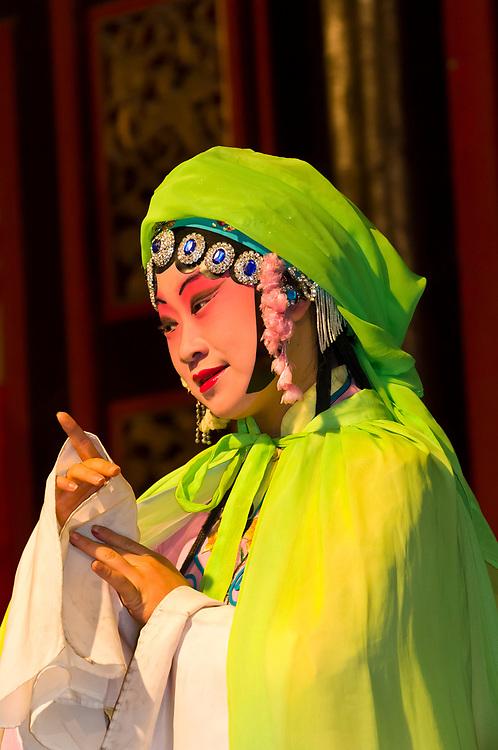 Chinese Opera performance, Zhouzhuang, China