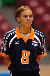 18-06-2000 JAP: OKT Volleybal 2000, Tokyo<br /> Nederland - China 3-0 / Marrit Leenstra