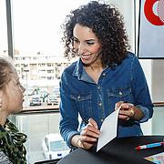 NLD/Hilversum/20160110 - NOS Journaal bestaat60 jaar en viert dit met Festival van het Nieuws, Siham Raijoul