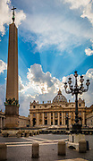 The Papal Basilica of Saint Peter, officially known in Italian as the Basilica Papale di San Pietro in Vaticano and commonly known as St. Peter's Basilica, is a Late Renaissance church located within the Vatican City.
