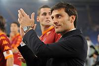Vincenzo Montella, allenatore della Roma<br /> Roma vs Sampdoria<br /> Campionato di Calcio serie A<br /> Stadio Olimpico, Roma, 22/05/2011<br /> Photo Antonietta Baldassarre Insidefoto