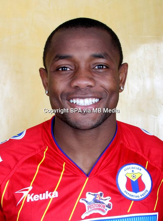Colombia League - Postobom Liga 2014-2015 -<br /> Asociacion Deportivo Pasto - Colombia / <br /> Luis Carlos Murillo