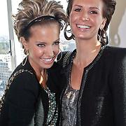 NLD/Amsterdam/20101011 - Presentatie By Danie Styleguide magazine, Sylvie van der Vaart en Leontine Borsato - Ruiters