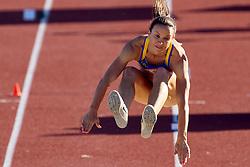 Maurren Maggi participa do salto em distância nos Jogos Pan-Americanos de Guadalajara 2011. FOTO: Jefferson Bernardes/Preview.com