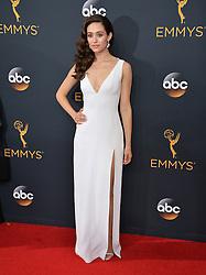 Emmy Rossum bei der Verleihung der 68. Primetime Emmy Awards in Los Angeles / 180916<br /> <br /> *** 68th Primetime Emmy Awards in Los Angeles, California on September 18th, 2016***