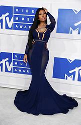 Nicki Minaj arriving at the MTV Video Music Awards at Madison Square Garden in New York City, NY, USA, on August 28, 2016. Photo by ABACAPRESS.COM    560634_013 New York City Etats-Unis United States