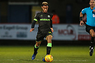 Forest Green Rovers Junior Mondal(25) runs forward during the EFL Sky Bet League 2 match between Stevenage and Forest Green Rovers at the Lamex Stadium, Stevenage, England on 26 January 2019.