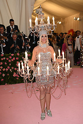 Katy Perry attends The 2019 Met Gala Celebrating Camp: Notes on Fashion at Metropolitan Museum of Art on May 06, 2019 in New York City.<br /> Photo by ABACAPRESS.COM