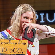 NLD/Amsterdam/20150430 - Uitreiking Mary Dresselhuys Prijs 2015, winnares Anniek Pheifer
