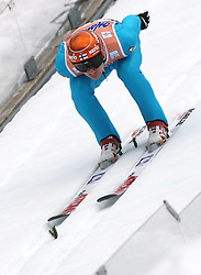 Matti Hautamaeki (FIN) at Flying Hill Individual in 2nd day of 32nd World Cup Competition of FIS World Cup Ski Jumping Final in Planica, Slovenia, on March 20, 2009. (Photo by Vid Ponikvar / Sportida)