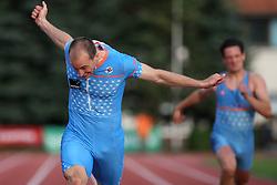 Jan Zumer at Athletic National Championship of Slovenia, on July 20, 2008, in Stadium Poljane, Maribor, Slovenia. (Photo by Vid Ponikvar / Sportal Images).