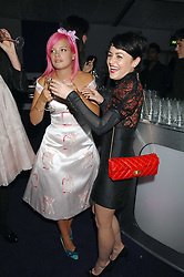 JAIME WINSTONE and LILY ALLEN at the 2008 Glamour Women of the Year Awards 2008 held in the Berkeley Square Gardens, London on 3rd June 2008.<br />