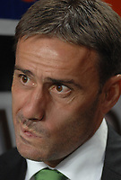 20091106: Paulo Bento resigns as Sporting Lisbon coach, after five seasons leading the Lisboa 'Lions'. ***FILE PHOTO*** 20070929: LISBON, PORTUGAL - Portuguese Bwin League 2007/2008, 6th round: SL Benfica vs Sporting Lisbon. In picture: Paulo Bento (Sporting Coach). PHOTO: Alvaro Isidoro/CITYFILES