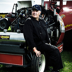 BOUCONVILLE, FRANCE. AUGUST 21, 2011. Wild Star's driver Jos Becker, from Luxembourg. Tractor Pulling: Eurocup 2011. Photo: Antoine Doyen