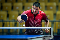 Florian VAN ACKER of Belgium plays final match during Day 4 of SPINT 2018 - World Para Table Tennis Championships, on October 20, 2018, in Arena Zlatorog, Celje, Slovenia. Photo by Vid Ponikvar / Sportida