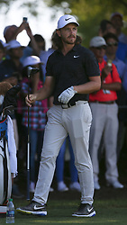 September 19, 2018 - Atlanta, Georgia, United States - Tommy Fleetwood watches his shot on the 10th tee during the practice round at the 2018 TOUR Championship. (Credit Image: © Debby Wong/ZUMA Wire)
