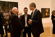 OLE FAARUP, MATTHEW SLOTOVER AND JAY JOPLING, Private view and dinner for the opening of the Peter Doig exhibition. Tate Britain. Millbank. London. 4 February 2008.  *** Local Caption *** -DO NOT ARCHIVE-© Copyright Photograph by Dafydd Jones. 248 Clapham Rd. London SW9 0PZ. Tel 0207 820 0771. www.dafjones.com.