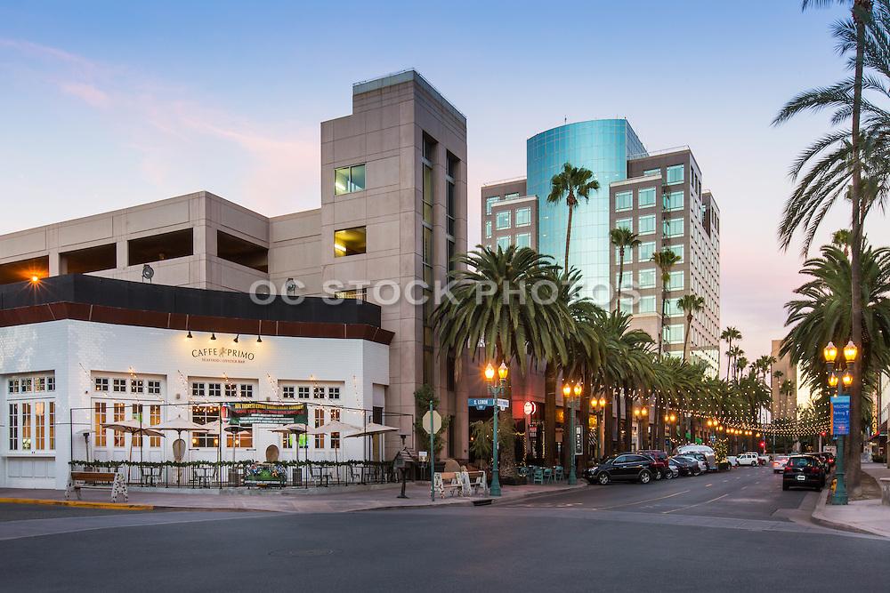 Cafe Primo on West Center Street Promenade in Anaheim California