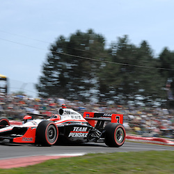 8 August, 2010; Team Penske's HELIO CASTRONEVES during the Izod IndyCar Series Honda Indy 200 at the Mid-Ohio Sports Car Course in Lexington, Ohio. Castroneves finished the race third..Mandatory Credit: Will Schneekloth / Southcreek Global