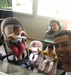"""Cristiano Ronaldo releases a photo on Instagram with the following caption: """"Good morning \u2600\ufe0f \u2600\ufe0f \u2600\ufe0f \u2600\ufe0f"""". Photo Credit: Instagram *** No USA Distribution *** For Editorial Use Only *** Not to be Published in Books or Photo Books ***  Please note: Fees charged by the agency are for the agency's services only, and do not, nor are they intended to, convey to the user any ownership of Copyright or License in the material. The agency does not claim any ownership including but not limited to Copyright or License in the attached material. By publishing this material you expressly agree to indemnify and to hold the agency and its directors, shareholders and employees harmless from any loss, claims, damages, demands, expenses (including legal fees), or any causes of action or allegation against the agency arising out of or connected in any way with publication of the material."""