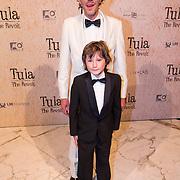 NLD/Amsterdam/20130625 - Premiere van de film Tula The Revolt, regisseur Jeroen Leinders met zijn zoontje