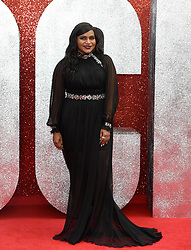 June 13, 2018 - London, England, United Kingdom - 6/13/18.Mindy Kaling at the premiere of ''Ocean''s 8'' in London, England. (Credit Image: © Starmax/Newscom via ZUMA Press)
