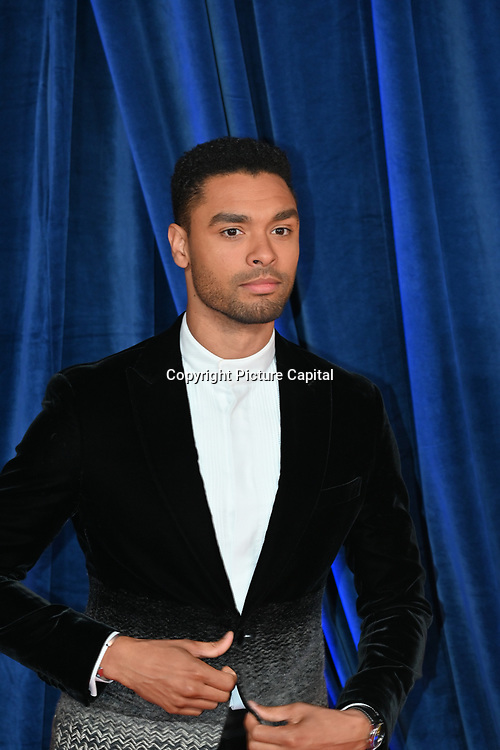 """Rege-Jean Page attended """"The Harder They Fall"""" Opening Night Gala - 65th BFI London Film Festival, Southbank Centre, London, UK. 6 October 2021."""