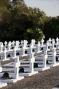 Takrouna military cemetery, near Enfidha, Tunisia