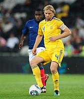 Fotball<br /> 06.06.2011<br /> Foto: Witters/Digitalsport<br /> NORWAY ONLY<br /> <br /> Anatoliy Tymoshchuck (Ukraine)<br /> Testspiel, Ukraine - Frankreich 1:4<br /> <br /> Testspiel, Ukraina v Frankrike 1:4