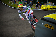 #457 (CALLAN Joshua) AUS at the UCI BMX Supercross World Cup in Papendal, Netherlands.