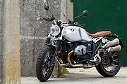 BMW Motorrad South Africa launxhed the new BMW RnineT Scrambler to the media. Image by Greg Beadle