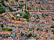 Nederland, Utrecht, Amersfoort, 21–06-2020; oSoesterkwartier, Bloemenbuurt.<br /> luchtfoto (toeslag op standaard tarieven);<br /> aerial photo (additional fee required)<br /> copyright © 2020 foto/photo Siebe Swart