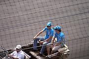 July 2, 2006: Indianapolis Motorspeedway. Giancarlo Fisichella, Fernando Alonso, Mild Seven Renault F1 Team