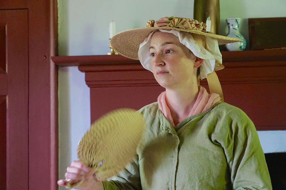 Tour Docent, Colonial Plantation, Ridley Creek State Park, Delaware County, PA