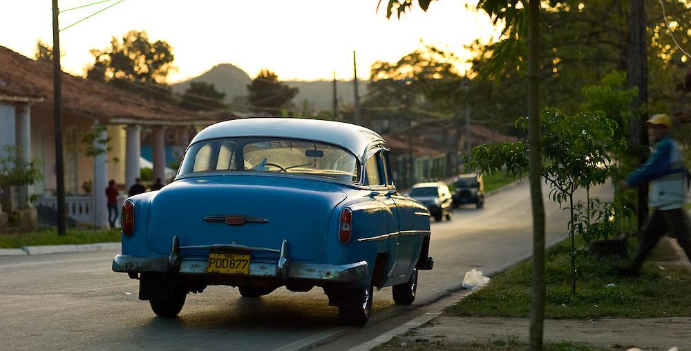 Old American car in Cuba